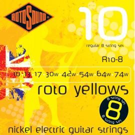 R10-8 Струни за 8-струнна китара